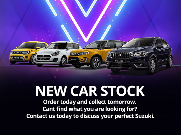 New cars in stock