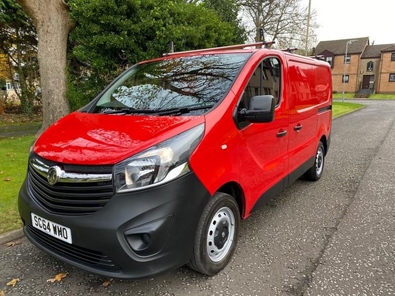 Vauxhall Vivaro 1.6 CDTi 2700 (No VAT) .